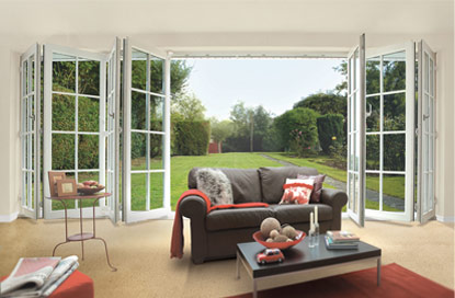 DP Windows - Double Glazed MultiFolding Doors Witney, Oxon, Oxfordshire