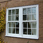 Heritage 2 Double Glazed Vertical Sliding windows in Burbage, Leicestershire
