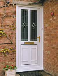 DP Windows - Double Glazed Front and Back Doors in Witney, Oxon, Oxfordshire